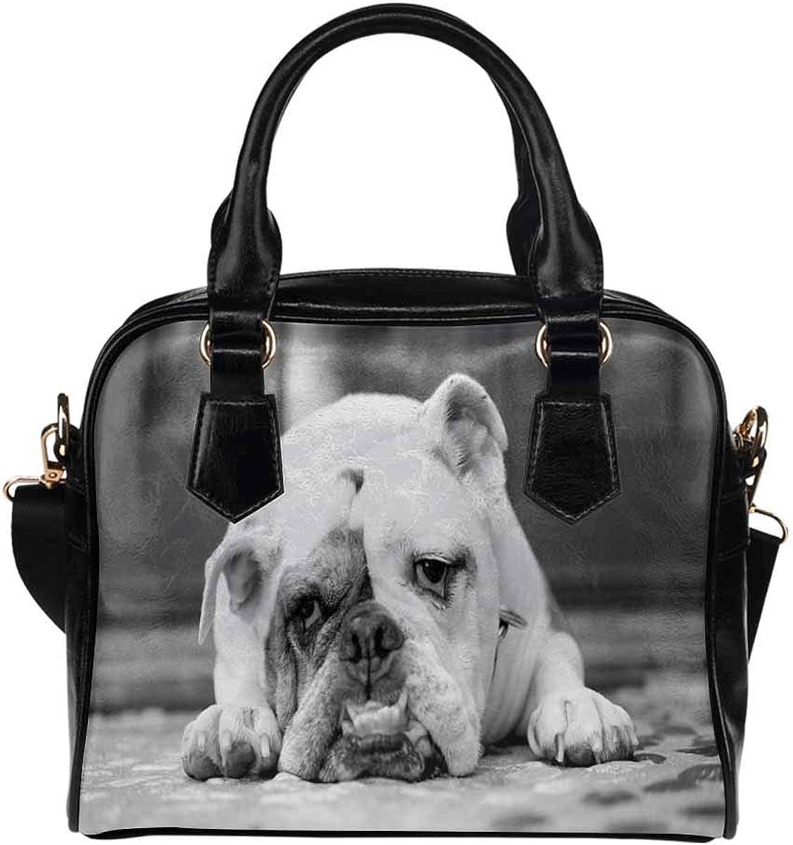 InterestPrint Women's Casual Bag Shoulder Bag PU Leather Handbags