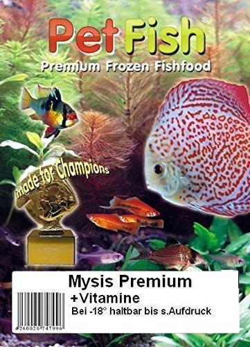 Mysis Premium + Vitamine 5 kg / 10 X 500g / Premium Frostfutter / Diskusfutter / Zierfischfutter / Fischfutter / Diskus / Fische / Meerwasser Futter / Meerwasserfutter