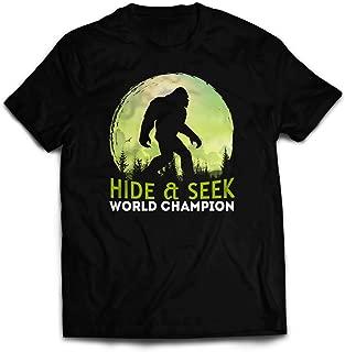 Best bigfoot hide and seek world champion shirt Reviews
