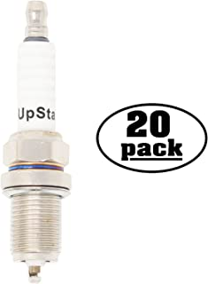 UpStart Components 20-Pack Replacement Spark Plug for Bradley Lawn Mower & Garden Tractor with Briggs & Stratton 6.75 & 8.5 hp Intek OHV - Compatible with Champion RC12YC & NGK BCPR5ES Spark Plugs