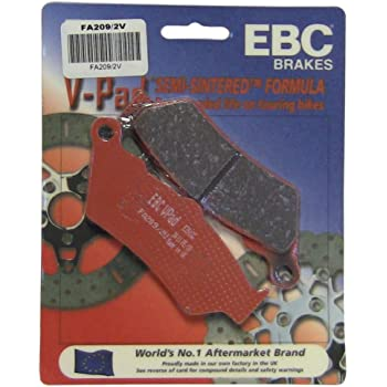 EBC BRAKE PADS PART# FA209//2 NEW