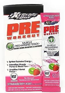 Bluebonnet Nutrition Extreme Edge Pre Workout, Strawberry Kiwi, 20 Count