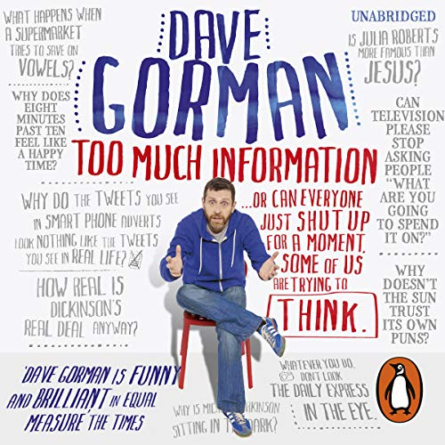 Too Much Information audiobook cover art
