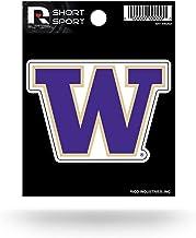 NCAA Washington Huskies Die Cut Team Logo Short Sport Sticker