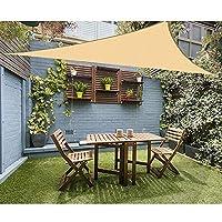 PovKeever 日よけシェード 遮光ネット UVカット サンシェード 日除け 撥水 耐久性 取り付け簡単 ガーデン 庭 バルコニー用