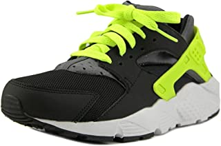 Huarache Run (GS) Youth US 5 Black Running Shoe
