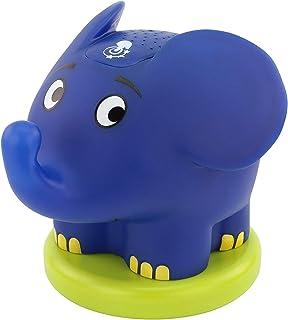 ANSMANN Sternenhimmel Projektor mit Musik Sternenlicht Elefant Sendung mit der Maus Einschlafhilfe als LED Nachtlicht für Baby & Kind - Schlummerlicht nachttischlampe Kinderzimmer Deko & Stilllicht