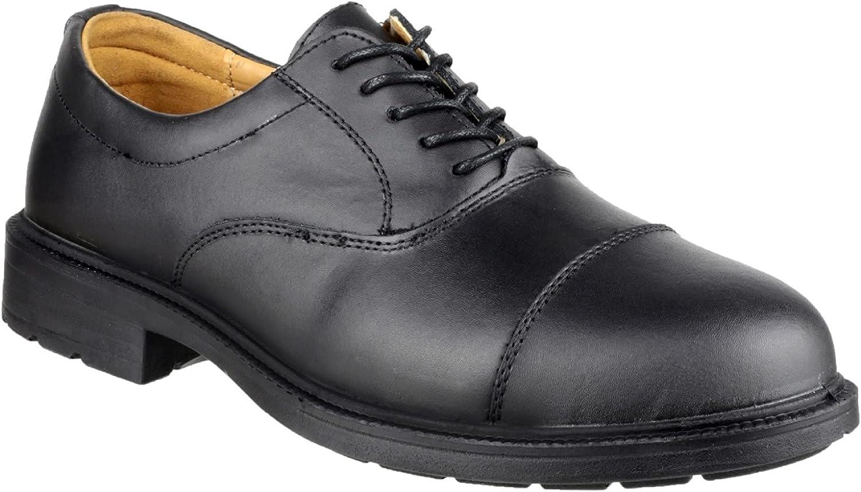 Amblers Safety Mens FS43 Work Safety Shoe Black Size UK 9 EU 43