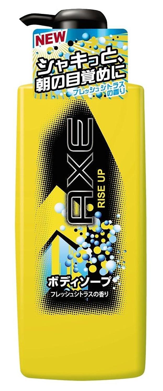 六月型錫アックス(AXE) ボディソープ ライズアップ ポンプ  480g