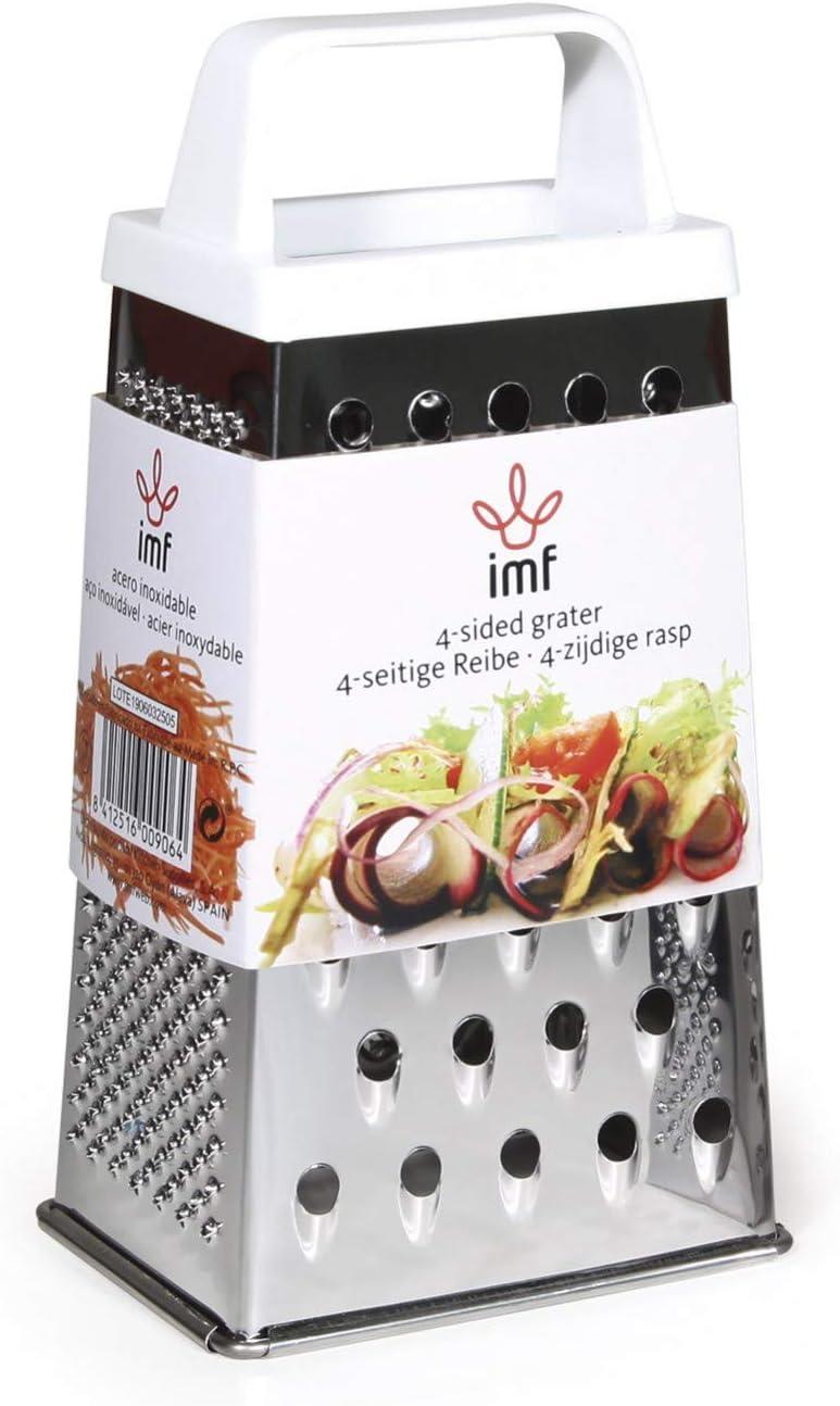 Imf Serie Rallador 4 Usos Inox, Stainless Steel