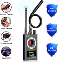 Anti Spy Detector, RF Signal Detector & Camera Finder, Bug Detector, Wireless Hidden Camera Detector for GPS Tracking GSM Listening Device Finder