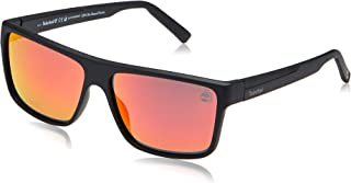 Timberland Rectangle Sunglasses for Men - Multi Color Lens, TB9156 02D