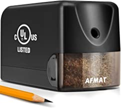 AFMAT Electric Pencil Sharpener Heavy Duty, Classroom Pencil Sharpener for 6.5-8mm..