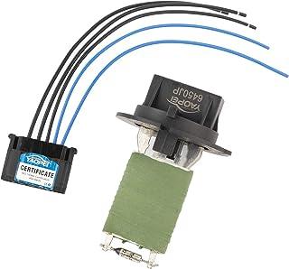 R Resistor de ventilador de motor de calentador para Citroen Xantia Berlingo Picasso Xsara TOOGOO Resistor de soplador para Citroen