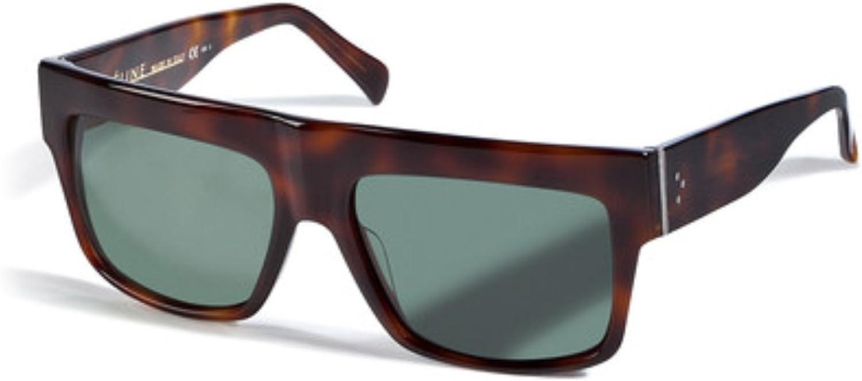 Celine Geo Square cl41756 zz top Havana Brown Kim Kardashian Sunglasses