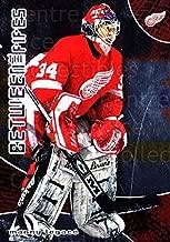 (CI) Manny Legace Hockey Card 2001-02 Between the Pipes (base) 28 Manny Legace