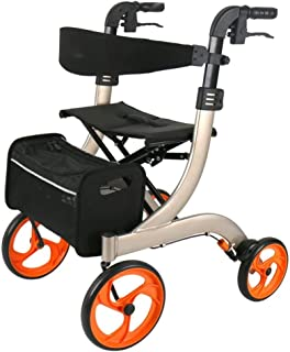 Mobility Aids & Supplies Walker Elderly Shopping Cart Trolley Lower Limb Rehabilitation Aids Disabled Four-wheeled Scooter...