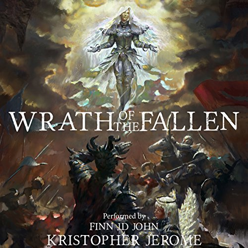 Wrath of the Fallen audiobook cover art