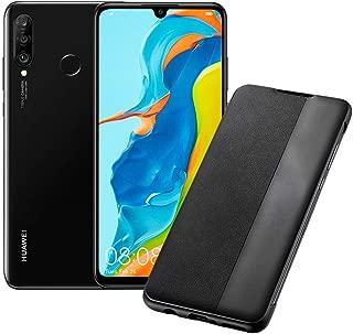 """HUAWEI P30 Lite (Black) Smartphone + cover, 4 GB RAM, Memoria Espandibile da 128 GB, Display 6.15"""" FHD+, Tripla Fotocamera Posteriore da 48+8+2 MP, Fotocamera Anteriore 24 MP [Italia]"""