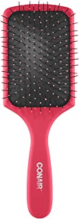 Conair Detangling Paddle Brush, 8.8 Ounce, color may vary