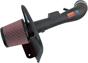 K&N Cold Air Intake Kit with Washable Air Filter: 2004-2011 Ford/Mazda (Ranger, B4000) 4.0L V6, Black HDPE Tube with Red Oiled Filter, 57-2561