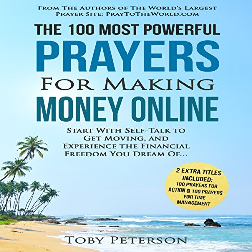 The 100 Most Powerful Prayers for Making Money Online audiobook cover art