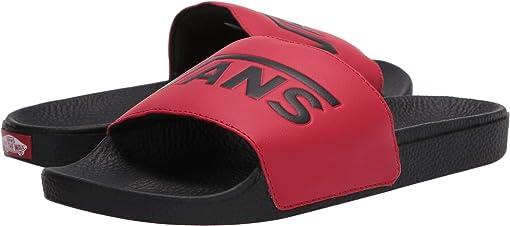(Vans) Red/Black