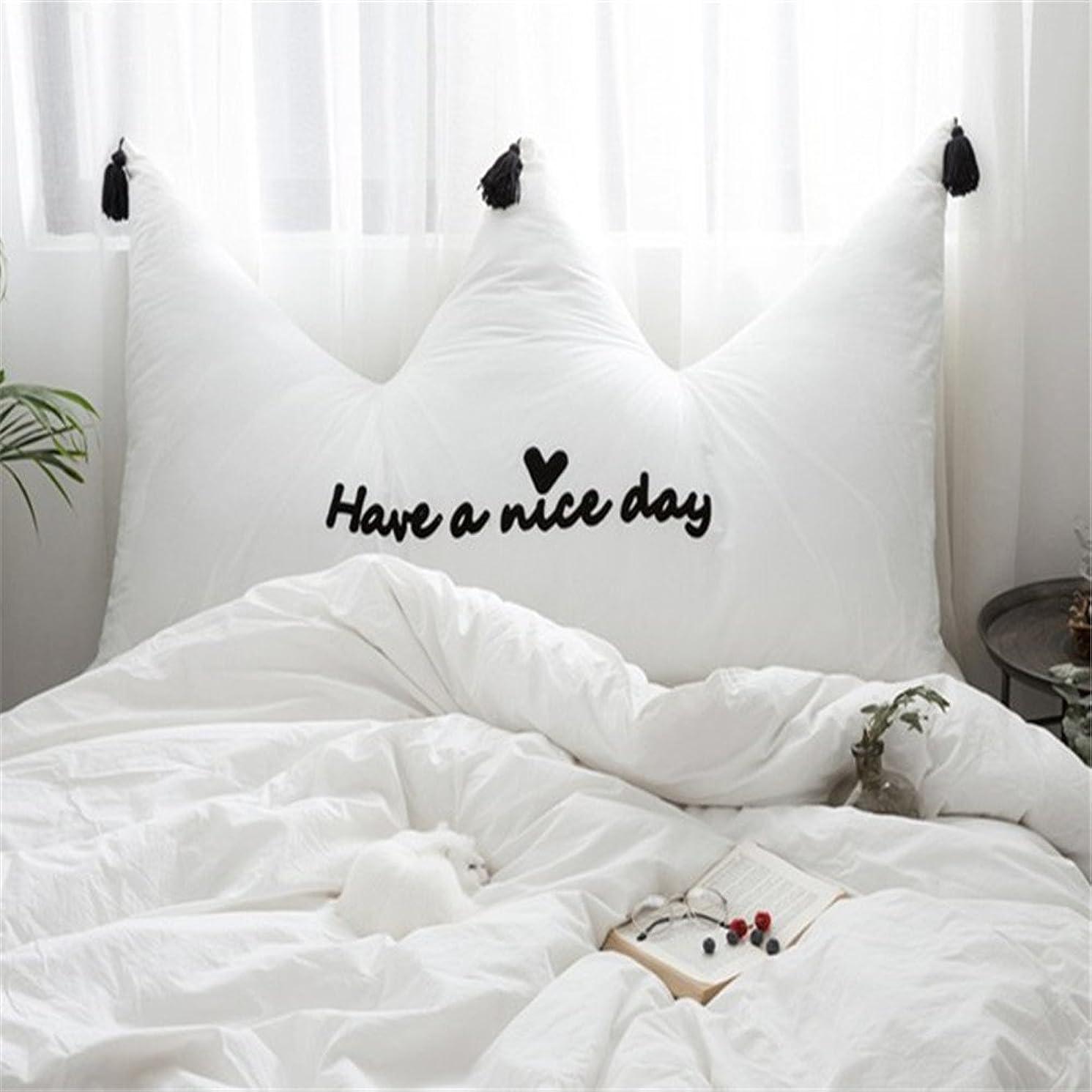 ロバヘッドレス中国腰まくら 純粋な綿刺繍枕洗える綿タッセルバック高弾性