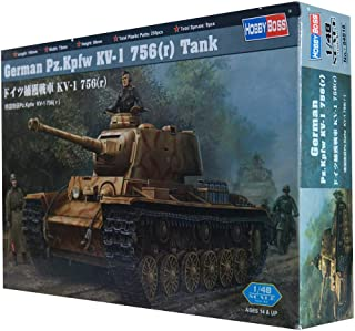 Hobby Boss 84818 Pz.Kpfw Kv-1 756 Die Cast Tank - 14 Years & above