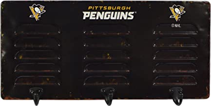 Imperial Officially Licensed NHL Merchandise: Wall Mounted Metal Locker Coat Rack