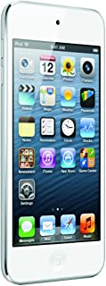 Apple iPod Touch 64GB (5th Generation) Newest Model - White/Silver (Renewed)