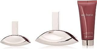 Calvin Klein Gift Set Euphoria W, Eau de Parfum and Body Lotion, 230 ml