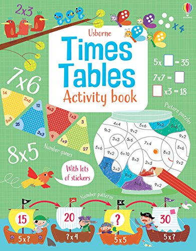Times Tables Activity Book (Maths Activity Books): 1