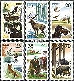 Prophila Collection DDR 2270-2275 (kompl.Ausgabe) 1977 Jagdwesen (Briefmarken für Sammler) Säuger Sonstige
