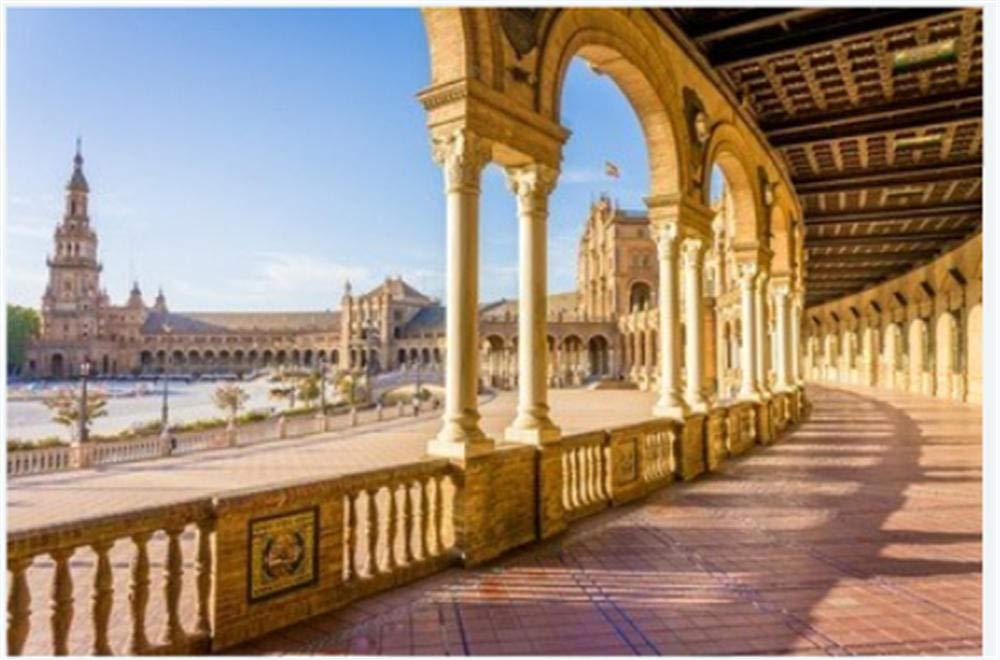 Puzzle 1000 Piezas Rompecabezas Plaza De España Plaza De España Sevilla Rompecabezas: Amazon.es: Hogar