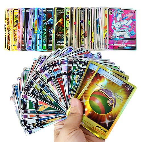 (109GX+11Trainer) 120 Pcs Pokemon GX Cards EX Mega Energy Trainer 2018 New Cards