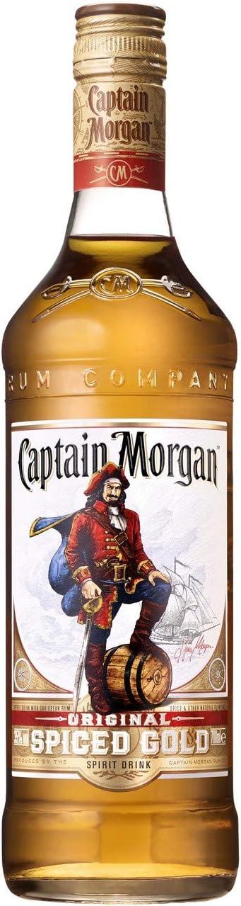 Captain Morgan Spice Gold Ron, 700ml
