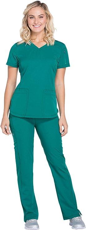 Dickies Dynamix DK730 DK130 - Conjunto de pantalones con cordón para mujer