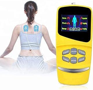 LYHD Electroestimulador Digital Masaje EMS TENS Portatil Canales Estimulador Muscular Recargable Masajeador Electro para Alivio del Dolor de Cervical Piernas Abdominal Espalda Cuello