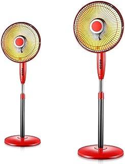 Termoventiladores y calefactores cerámicos Calentador Pequeño Elevador Escritorio De Aterrizaje De Pie Rojo Personal Calentador Del Ventilador Calefactor De Espacio Para La Oficina Calefactor Oscilant