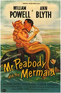 Best mr peabody and the mermaid poster Reviews