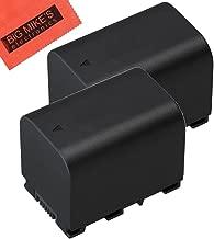 BM Premium Pack of 2 BN-VG121 Batteries for JVC Everio GZ-E10 GZ-E100 GZ-E200 GZ-E300 GZ-E505B GZ-E515B GZ-EX250 GZ-EX310 GZ-EX355B GZ-EX555B GZ-GX1 GZ-HD500B GZ-HM300B GZ-HM550B GZ-MS110B Camcorder