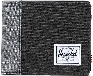 Herschel Roy Moneda RFID, Negro Crosshatch/Negro/Raven Crosshatch, Talla única, Roy Coin RFID