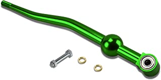 For Civic/Del Sol/CRX/Integra Dual Bend Manual Transmission Racing Short Throw Shifter (Green)