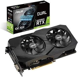 Asus Dual GeForce RTX 2060 OC Edition EVO 6GB GDDR6, Scheda Video Gaming con Dissipatore Biventola ad Alte Prestazioni per...