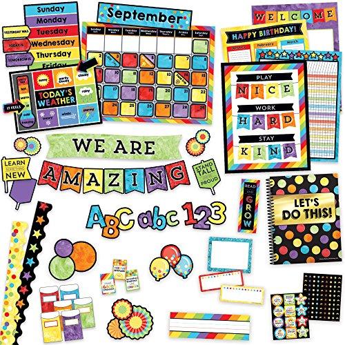 Carson-Dellosa Celebrate Learning Set de decoración variada