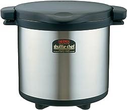 Thermos vacuum heat insulation cooker Shatorushefu 8.0L black KPS-8001 BK