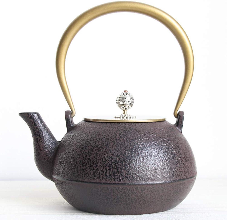 MINBAO Théière en Fonte Yongkang Pot en Fer Théière en ébullition avec passoire Kung Fu