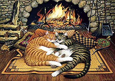 Buffalo Games - Charles Wysocki - All Burned Out - 300 Piece Jigsaw Puzzle by Buffalo Games