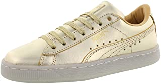 Boys Suede 50Th Gold Junior Casual Sneakers,